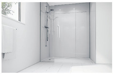 Shower panel kit